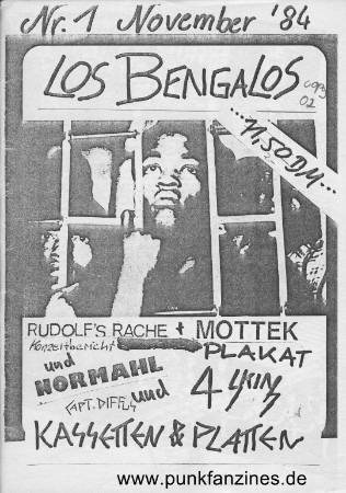 File:Los Bengalos Nr.1 November 1984.png